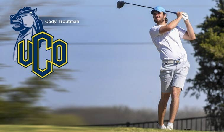 Troutman leads UCO to third-place finish in Broncho Invitational