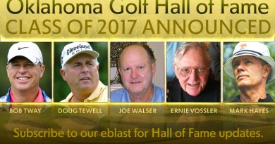 Oklahoma Golf Hall of Fame announces 2017 Class