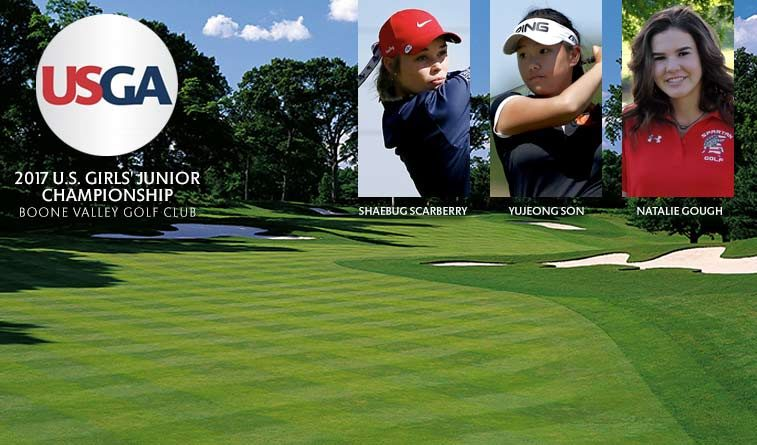 Gough, Scarberry, Son ready for U.S. Girls' Junior Championship