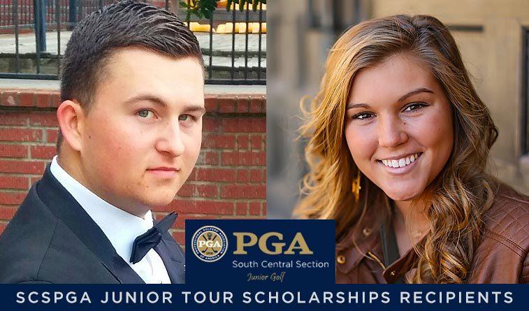 Gibson, McCoy awarded SCSPGA Junior Tour scholarships