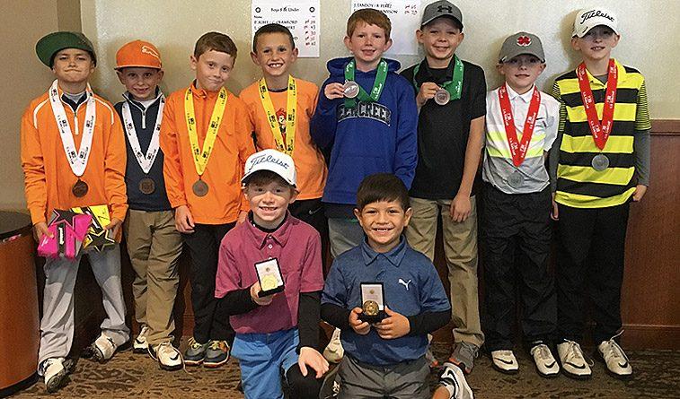 U.S. Kids OKC Fall Team golf event results
