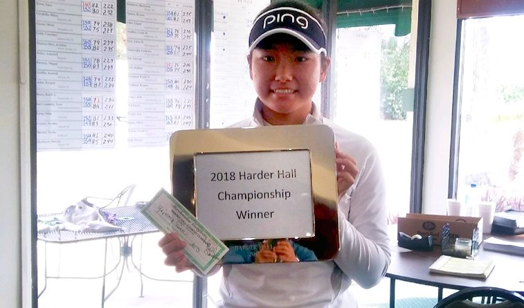 Son wins frigid Harder Hall Invitational for third victory in a row