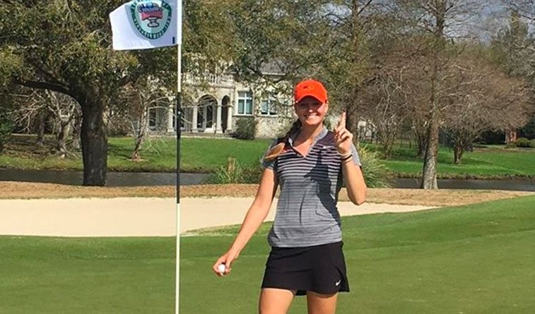 Neisen's ace helps Cowgirls finish eighth in Sugar Bowl