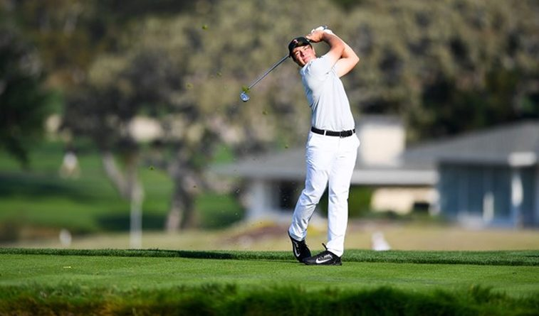 Cowboys widen lead at Valspar Collegiate, Hovland fires 65