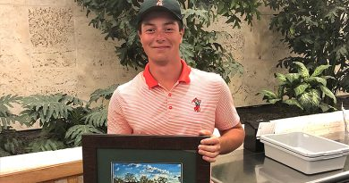 Cowboys run winning streak to six, Hovland earns first individual title