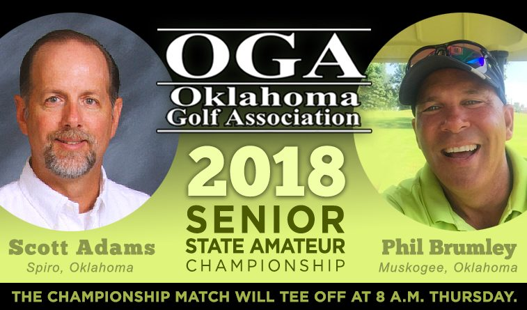 Brumley, Adams are finalists in OGA Senior State Amateur