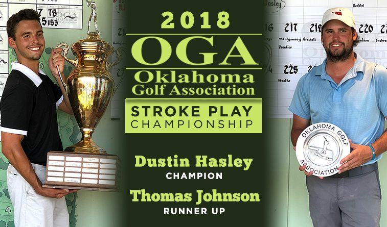 Hasley edges Johnson in ORU-laden OGA Stroke Play Championship