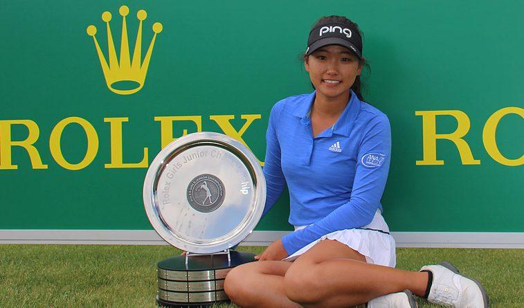 Son wins Rolex Girls Junior Champion on AJGA Tour