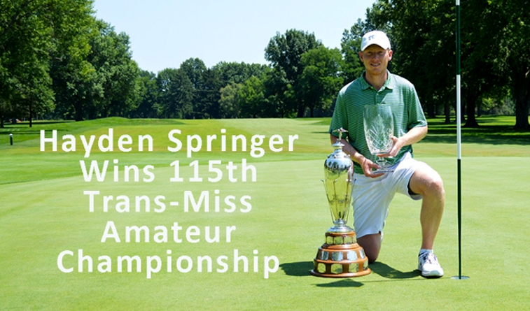 TCU's Springer wins Trans-Mississippi Amateur, Hale ties for 17th