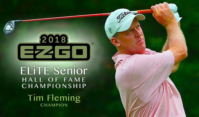 Fleming captures E-Z-GO ELiTE Senior Championship