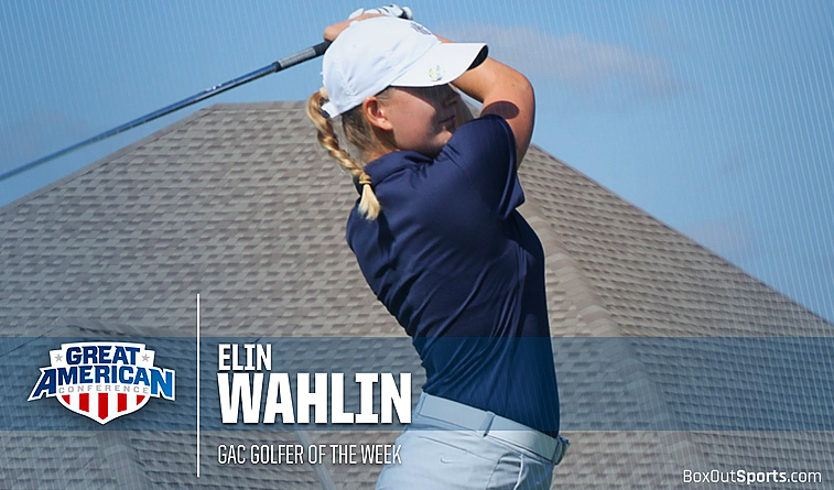 Elin Wahlin named GAC golfer of the week