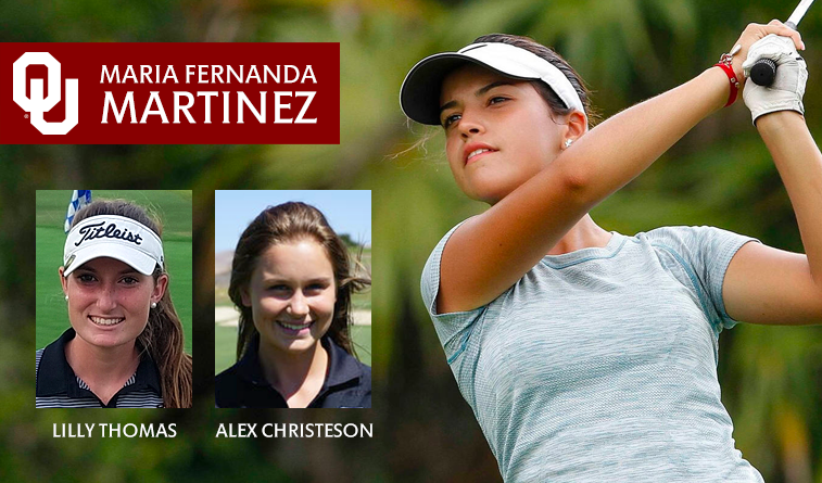 TU signs two, Sooners one to bolster women's golf teams