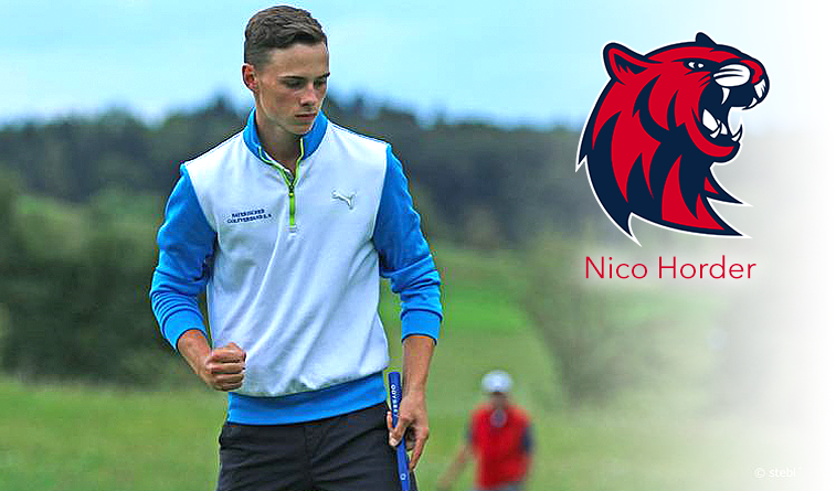 RSU men's golf signs Horder to 2019 class