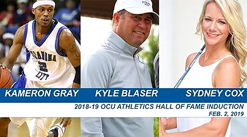 Blaser, Cox to join OCU Hall of Fame