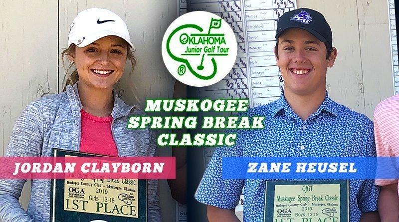 Heusel, Clayborn prevail in Muskogee Spring Break Classic
