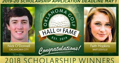 Oklahoma Golf Hall of Fame offers two scholarships for 2019-20 academic year