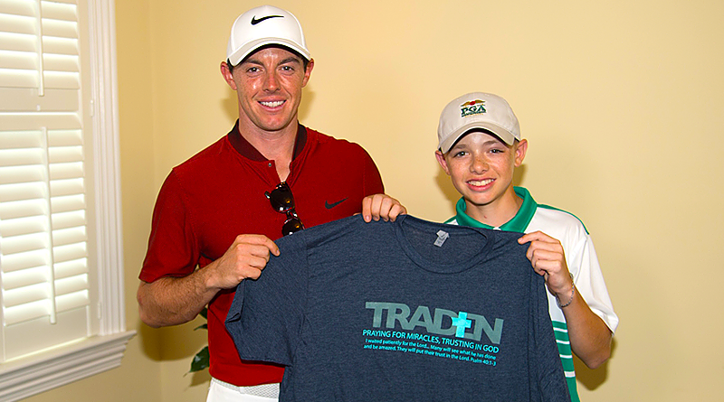 Traden Karch story included in PGA Junior League show  on CBS Sports Saturday