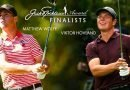 Hovland, Wolff are finalists for Jack Nicklaus Player of Year Award