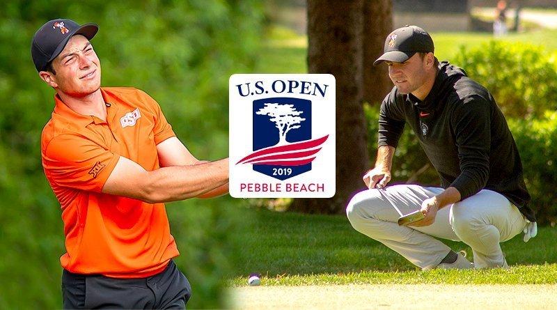 Hovland, Eckroat make impressive U.S. Open debuts