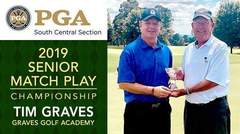 Graves edges Stewart in SCSPGA Senior Match Play Championship