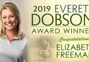 Elizabeth Freeman is 2019 Everett Dobson Award