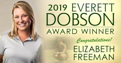 Elizabeth Freeman is 2019 Everett Dobson Award recipient from the Oklahoma Golf Hall of Fame