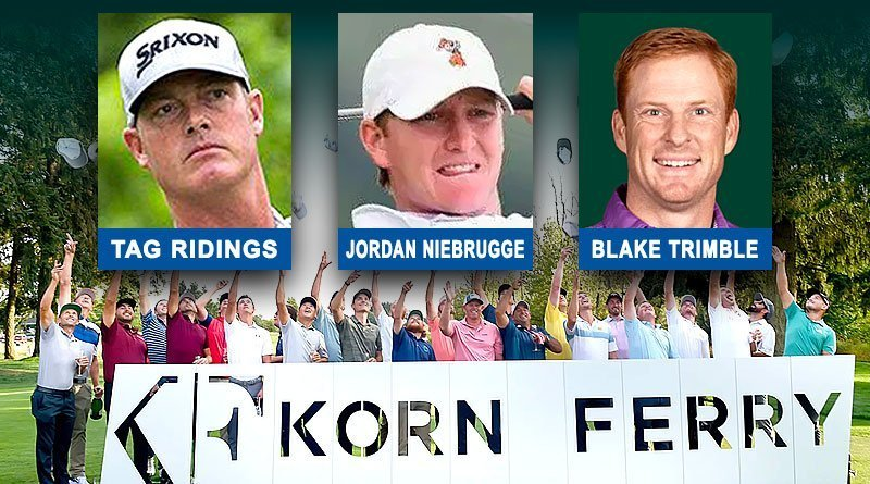 Niebrugge, Trimble, Ridings advance in Korn Ferry Tour qualifying