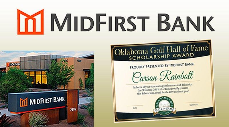 MidFirst Bank to sponsor Oklahoma Golf Hall of Fame scholarship