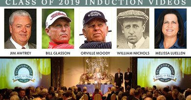 View Jim Nantz-narrated videos for Hall of Fame inductees