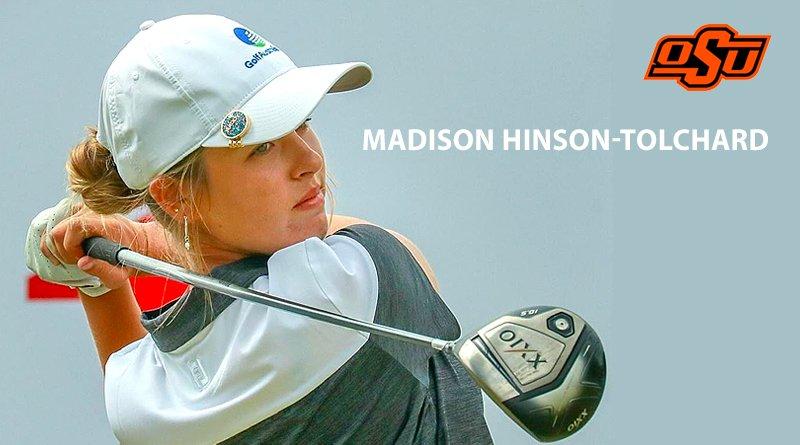 Cowgirl golf signs Aussie Hinson-Tolchard