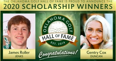 Roller, Cox to receive Oklahoma Golf Hall of Fame scholarships
