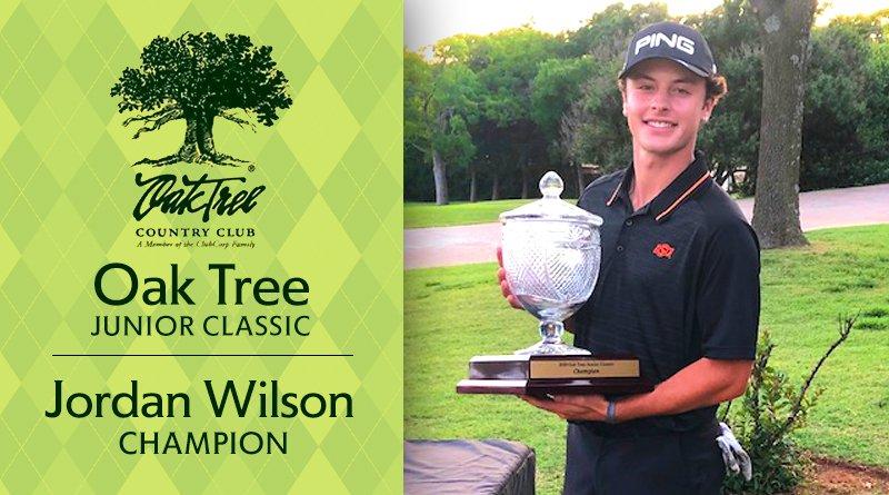 Wilson edges Goodman in Oak Tree Junior Classic