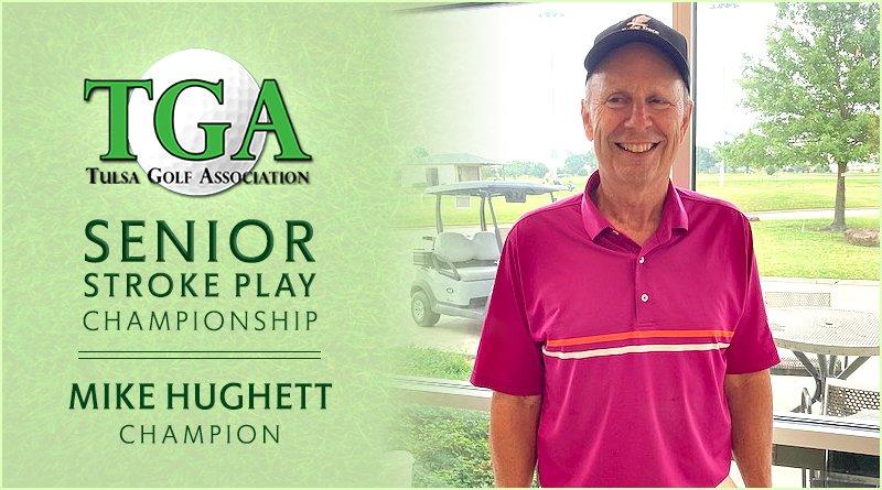 Hughett blisters field in TGA Senior Stroke Play Championship