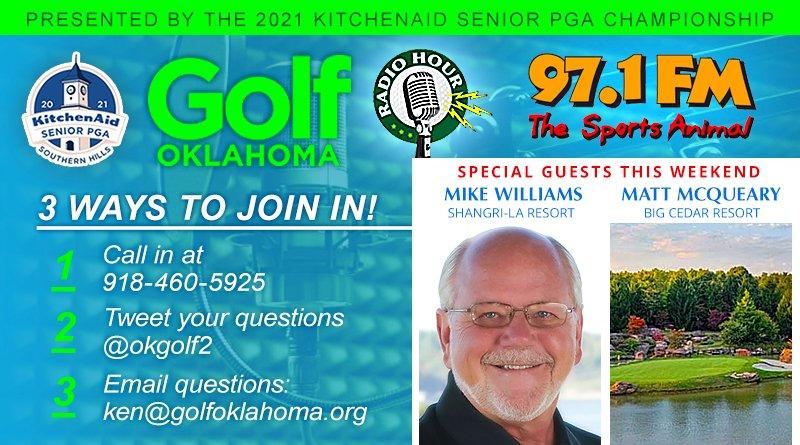 Golf travel, new projects topics for golf radio hour Saturday