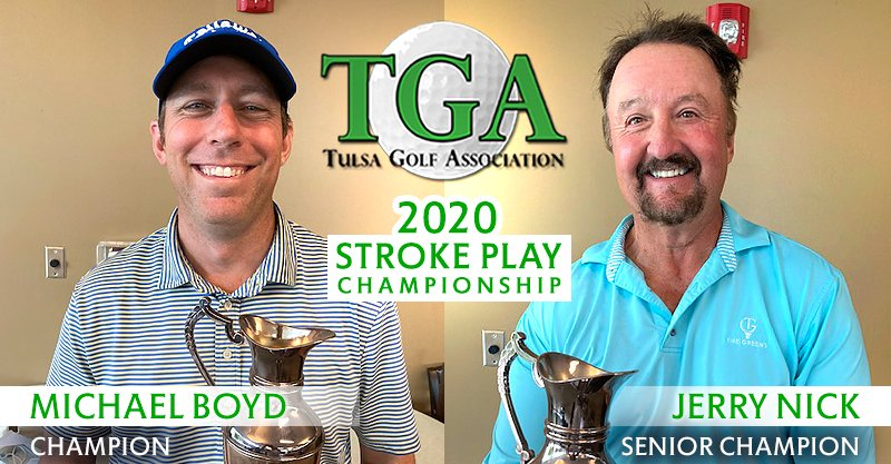 Boyd marks return to amateur status with TGA Stroke Play victory