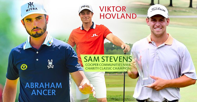 Tour view: Stevens wins APT in Bella Vista, Hovland, Ancer tie for 11th at Travelers