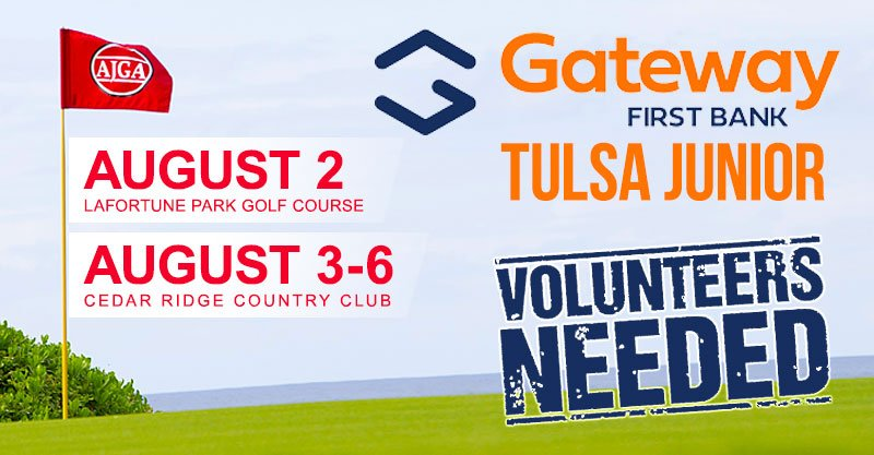 Volunteers needed for AJGA's Gateway First Bank Tulsa Junior