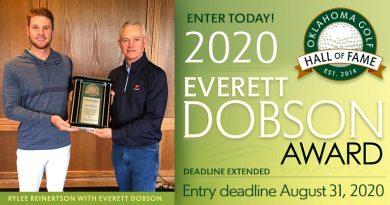 Deadline extended for Everett Dobson Award entries