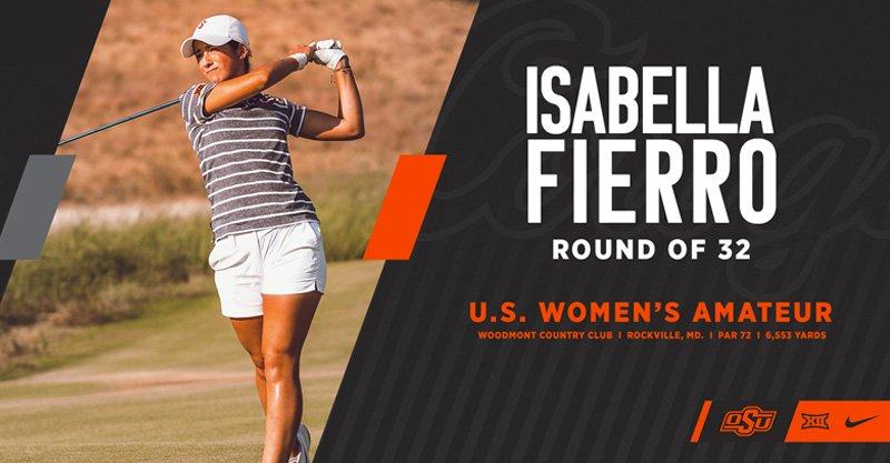 OSU's Fierro advances in U.S. Women's Amateur Championship