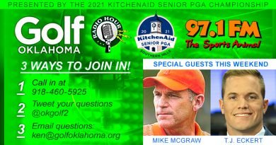 McGraw, Eckert on this weekend's Golf Oklahoma Radio Hour