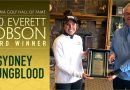 Youngblood receives Everett Dobson Award at Hall of Fame Classic