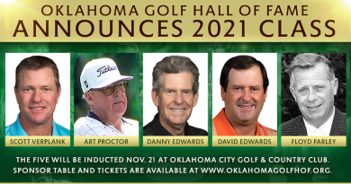 Verplank, David and Danny Edwards, Art Proctor and Floyd Farley to join Oklahoma Golf Hall of Fame