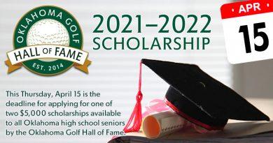 Thursday is deadline for Oklahoma Golf Hall of Fame scholarship applications