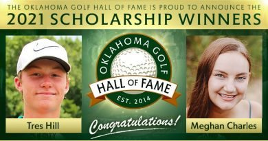 Charles, Hill are 2021 Oklahoma Golf Hall of Fame scholarship recipients