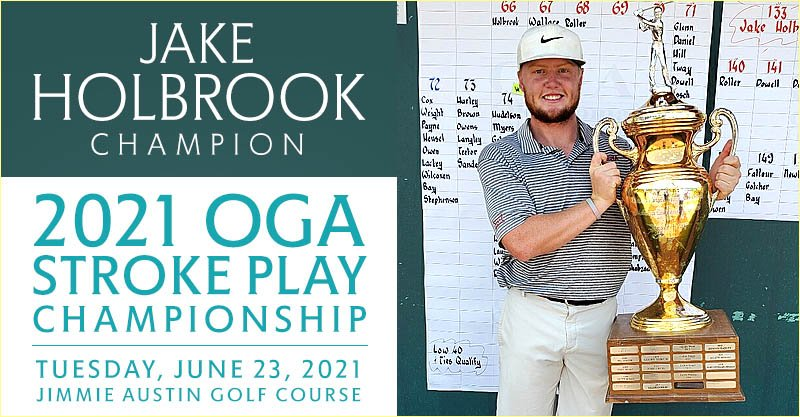 On home course, Holbrook, Sooners dominate in OGA Stroke Play Championship