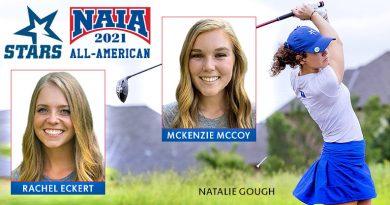 OCU's Gough, Eckert, McCoy land NAIA All-America honors