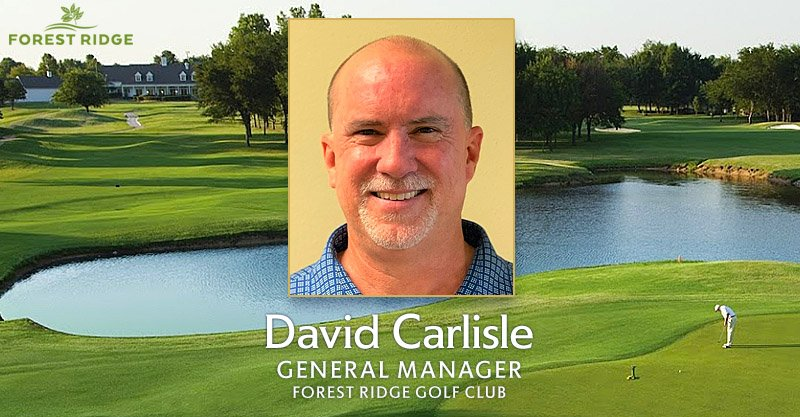 Carlisle is new general manager at Forest Ridge Golf Club