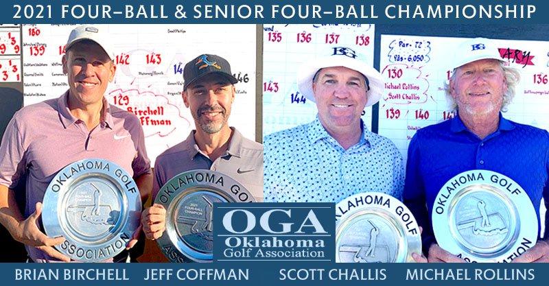 Birchell-Coffman win OGA Four-Ball Championship, Challis-Rollins are Senior champs