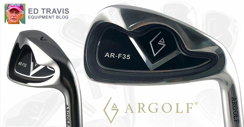 AR-F35 Irons from ARGOLF feature perimeter weighting