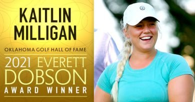 Milligan selected to receive 2021 Everett Dobson Award
